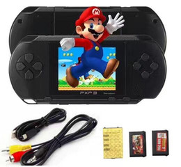 Wholesale Lcd Mini Video Game - Game Player PXP3(16Bit) 2.5 Inch LCD Screen Handheld Video Game Player Console 5 Colors Mini Portable Game