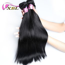Wholesale Cheap 28 Inch Weave - xblhair straight human hair extensions cheap virgin hair bundles malaysian silky straight human hair weave sale