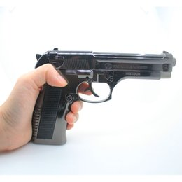 Wholesale Desert Eagle Model - Creative Browning PPK Desert Eagle pistol cigarette lighter Alloy metal 1:1 Military fan Collection gun model