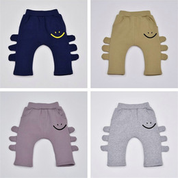 Wholesale Thick Pants Winter Toddler - Winter thick warm Pants Boys Girls Baby Cartoon PP Harem Trousers Kids toddler hip hop Clothes Children boutique Clothing Christmas Gift new