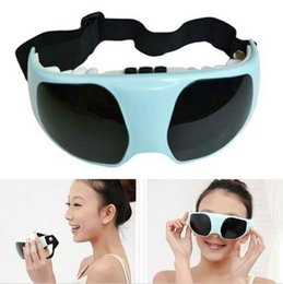 Wholesale Magnetic Therapy Eye Massager - 2016 Delicate Fashion eye protection New Health Eye Care Electric Vibration Release Alleviate Fatigue Eye Massager Relaxation
