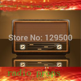 Wholesale Real Props - Wholesale- Takagism game prop, hot real life room escape props ,radio channel prop get clues from the radio to run away from room