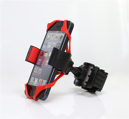 Wholesale Bike Smartphone Holder - New Universal Mobile Cell Phone Bike Bicycle Motorcycle Handlebar Mount Cradle Holder Support for iPhone Samsung LG Smartphone