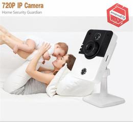 Wholesale Wifi P2p Ptz - NEW Wireless Camera IP Camera HD 720P H.264 Home Security Surveillance Camera WiFi IR Night Vision P2P ONVIF PTZ