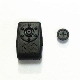 Wholesale Hd Dvr Button Camera - 6 Night Vision Light 1080P HD DVR Mini Button Camera Audio Video Recorder Cam