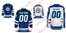 Argentina Personalizado Winnipeg Jets para mujer de las mujeres jóvenes Inicio royal azul blanco Tercero personalizado cosido Cualquier número de nombre barato Hockey sobre hielo Jerseys S-4XL Suministro