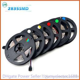 Wholesale More Cheaper - 2016 hot LED Strip 300 LED 5M 2835 RGB light String Ribbon lamp More Brighter than 3528 3014 Cheaper Than 5050 5630 Tape