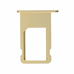iphone nano sim slot Coupons - For iPhone 6 6Plus Original New Nano Sim Card Tray Slot Holder Gold Silver Gray Sim Card Adapters Wholesale Replacement Parts