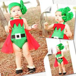 meilleurs cadeaux pour les nouveau-nés Promotion 2016 noël costume de bébé nouveau-né enfants garçons filles fête meilleur cadeau Vêtements fille robe Casual Body Leggings Outfits livraison gratuite