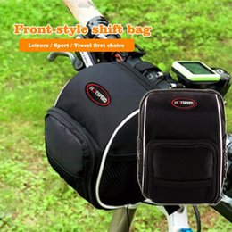Wholesale Folding Racing Bike - Rainproof front pack Skateboards car package Folding handlebar bag Balanced car leading package Mountain Bike Back Seat Bicycle Rear Bag