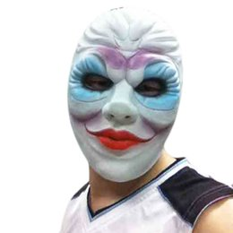 Halloween Scary Latex Mask Clown Latex Mask Adult Costume Mask Fancy Dress Party Mask Costumes Theater Role Playing Carnival  sc 1 st  DHgate.com & Shop White Clown Costume UK | White Clown Costume free delivery to ...