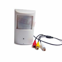 Argentina HQCAM 420tvl Sony CCD 940nm cámara LED Covert Audio visión nocturna CAMERA PIR IR Cámara PIR Detector de movimiento Suministro