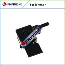 Wholesale Rear Camera Replacement - Good Qualtiy For Iphone 4 4G 500MP Back Rear Camera With Flash Replacement Part & With Freeshipping