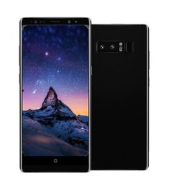 Wholesale Smarts Phones - ERQIYU Goophone Note8 note7 note 8 cell phone MTK6592 Octa Core Android 7.0 unlocked 4G RAM 128G ROM sHOWN 4G LTE Smartphones