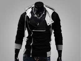 Wholesale Cardigan Jacket Assassins Creed - New Fashion Casual Men Hoodies Sweatshirt Male Tracksuit Hooded Jacket Casual Male Hooded Jackets Moleton Assassins Creed
