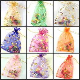 2019 мешок бутик оптом Wholesale- 100Pcs Random Mixed Color Organza Bag 11x16cm Jewelry Boutique Gift Packaging Drawstring Pouch Favor Christmas Organza Gift Bags дешево мешок бутик оптом