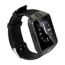 Wholesale Bluetooth Devices - DZ09 SmartWatch Wearable Devices With Sim Card Slot Push Bluetooth Connectivity IOS&Android Wearable PK Fitbit Surge
