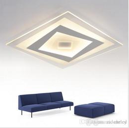 2016 Super Dnne Deckenleuchten Dimmible Led Luminaria Abajur Square Rectangle Moderne Deckenleuchte Fr Wohnzimmer Leuchten