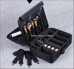 Wholesale Makeup Suitcases - High Quality Professional Makeup Organizer Bolso Mujer Cosmetic Case Travel Large Capacity Storage Bag Suitcases Make Up Handbag Waterproof