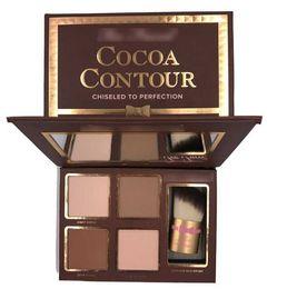 konturierende make-up-kits Rabatt Epack HEISSES neues Make-up Cocoa Contour Chiseled to Perfection Gesichtskontur-Textmarker-Kit! Bronzer Textmarker