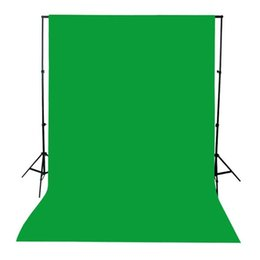 Wholesale Green Muslin Backdrop - High Quality 3x2m Green Screen Cotton Backdrop 6x9 FT Muslin Video Photo Photography Lighting Studio Background Green Background Material