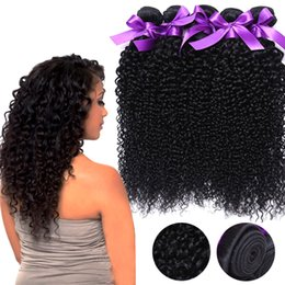 Wholesale Remi Curly - Malaysian Kinky Curly Virginn Hair,7A Brazilian Virgin Hair Deep Curly 4pcs,Unprocessed Remi Brazilian Hair Human Hair Weaves