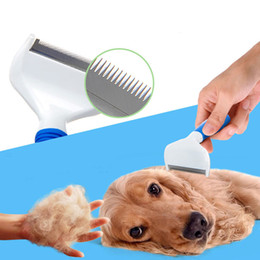 Wholesale Professional Grooming Supplies - Professional Dog Deshedding Tools Comb Brush Dog Grooming Tool Premium Quality pet supplies dog brush large middle size dog Brushes products