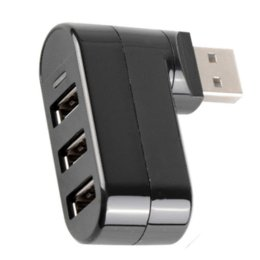 Wholesale Usb Laptop Accessories - Like shape 7 High Speed Mini 3 Port USB 2.0 Hub USB Port For Laptop PC Computer Laptop Peripherals Accessories VC626 P18 0.32