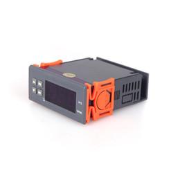 Argentina Regulador de temperatura del termóstato del regulador de la temperatura de 90 ~ 250V 10A que mide el rango -50 ~ 110 centígrados con el termómetro del sensor Suministro
