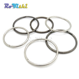 Wholesale Quick Release Key Chain - 100pcs lot Key Ring Outdoor Equipment Quick Release Ring Key Chain Hang Buckle Protect Nails EDC Plug Button And Use Tools