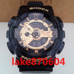 Wholesale G Shock Style Watches - ga110 wholesale DHL FREE SHIPPING luxury brand watch G New Men's Brand Luxury Style Shock Fun Sports Analog&Digital LED Reloj Hombre