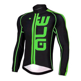 Argentina 2016 Pro Cycling Jerseys Cycling Tops Winter Fleece / Autumn None Fleece Red Yellow Green Fluo Mangas largas Ropa MTB Cycling Shirts Suministro