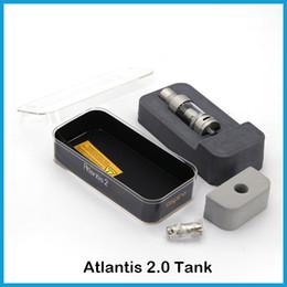 Aspire mod atlantis tank online-Original Aspire Atlantis 2 Tank tanque de capacidad 3 ml aspire Atlantis 2 ajuste de atomizador 20W-80W Box Mods