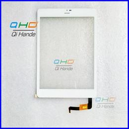 Tableta de 9,7 pulgadas de color blanco online-Venta al por mayor- nueva pantalla táctil de 7.85 '' color blanco 078065-01A-V1 para U55GT TALK79 Reemplazo del digitalizador de almohadilla táctil de PC de tableta CTP078065-01