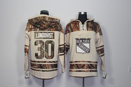 Wholesale Rangers Sports - Top Quality ! 2017 New New York Rangers Old Time Hockey Jerseys 30 HENRIK LUNDQVIST Camo Hoodie Pullover Sweatshirts Sport Winter Jacket