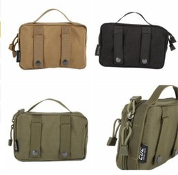Wholesale Mess Bag - Military Hunting Bag Pack Army Pouch Utility Field Sundries Pouch Outdoor Sport Bag Mess Pouch HandbagCY1