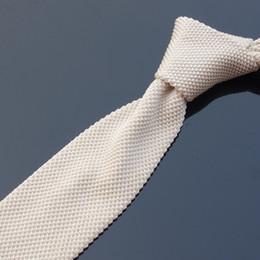 enge krawattenbreite Rabatt Einzigartige gestrickte Schmale Krawatten-Hals-Bindung der Männer Gelb Kaffee gestreifte Krawatte (als pic-Erscheinen) Breite: 5cm B29