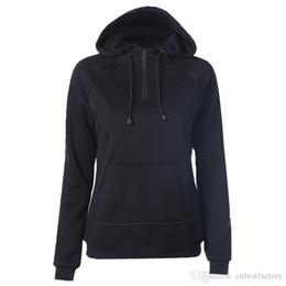 Wholesale Womens Pullover Hoodie Xl Xxl - 2016 Fashion Brand Winter Womens Fleece Hoodies Sweatshirts Tracksuit New High Quality Ski Warm Down Hoodies Women Clothes Black S-XXL W717#