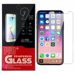 Wholesale Glass Factory Wholesalers - Factory Price For iPhone X 8 Galaxy S7 Tempered Glass Screen Protector For iPhone 7 6s Plus 0.26mm Glass Galaxy on5 J7 prime Paper Package