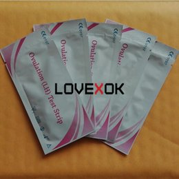 Wholesale Ovulation Test Kits - Wholesale Home Use Self Test Kit FDA CE Certificate LH Ovulation Test Strip 500 Pieces Free Fast Shipping