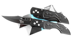 Wholesale Pack Knife - All steel folding knife, quickly open the settings box packing, 440 blade sharp, strong, a shipping