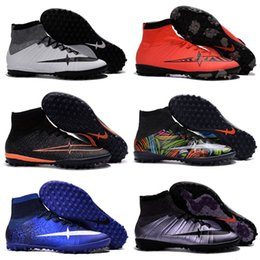 Wholesale Man Spike Street Shoe - Drop Shipping Wholesale Football Shoes Men MercurialX Proximo Street Indoor TF Soccer Boots 2016 New Men's Original Sport Shoes Size 39-45
