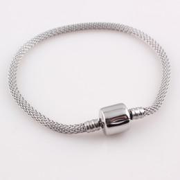 Wholesale Western Jewelry For Women Wholesale - New Snake Chain Bracelets Fashion Women Stainless Steel Clasp Bracelet Bangles Jewelry Western Style Bracelets for Women B468