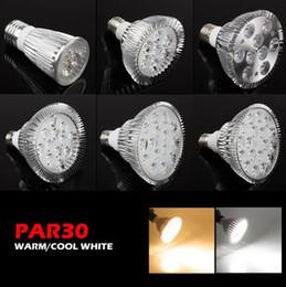 Bombilla led par38 25w online-YON Nuevo Ultra Brillante E27 PAR20 Par30 PAR38 Lámpara LED Bombilla 85-265V 6W 14W 18W 24W 30W 36W 36W LED SpotLight Bombillas Iluminación para interiores