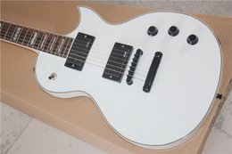 Wholesale Eclipse Custom Shop - Custom Shop Eclipse White Electric Guitar EMG pickup Active Pickup for China Guitar Factory