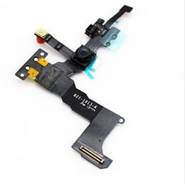 mini telefone celular m5 Desconto Novo sensor de proximidade cabo de luz flexível com frente da câmera da face para iphone 5s front camera assembléia flex cable