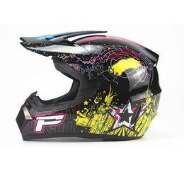 Wholesale Helmet Dh - Motorcycle Men motocross Off Road Match Helmet Protective Helmets ATV Dirt Bike Downhill MTB DH new