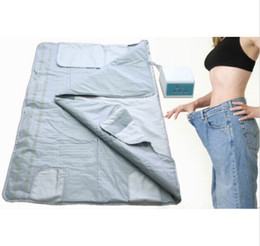 Wholesale Body Spa Sauna - 3 zone Home Spa Far infrared sauna slimming blanket weight loss Detox body shaping machine