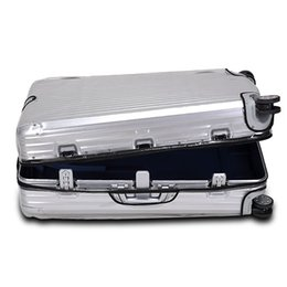 """Wholesale Cover Luggage - Free shipping New Design Zippers Clear PVC Protective Skin Cover Protector for RIMOWA NEW Topas Luggage 20"""" 21"""" 22"""" 26"""" 28"""" 30"""" 32""""Case 923"""