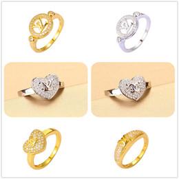 Wholesale Cubic Zirconia Sale - 24K Yellow Gold Silver Plated Rings Luxury Brand Best Crystal AAA CZ For Women Split Evening Dresses Top Fashion Oscar Oorbellen Hot Sales.